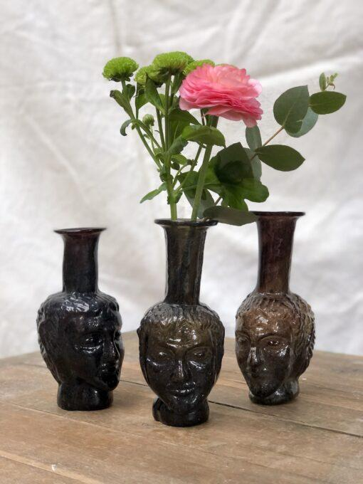 la-soufflerie-vase-tete-face-vase-bud-vase-color-mix-dark-hand-made-hand-blown-mouth-blown-recycled-glass
