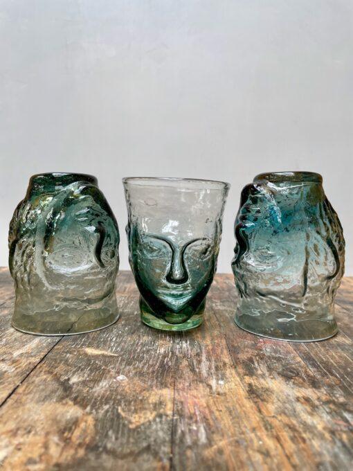 la-soufflerie-verre-tete-color-mix-purple-turquoise-head-shaped-glass-face-glass-face-vase