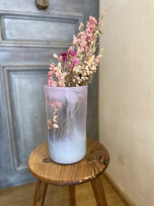 la-soufflerie-vase-droit-white-transparent