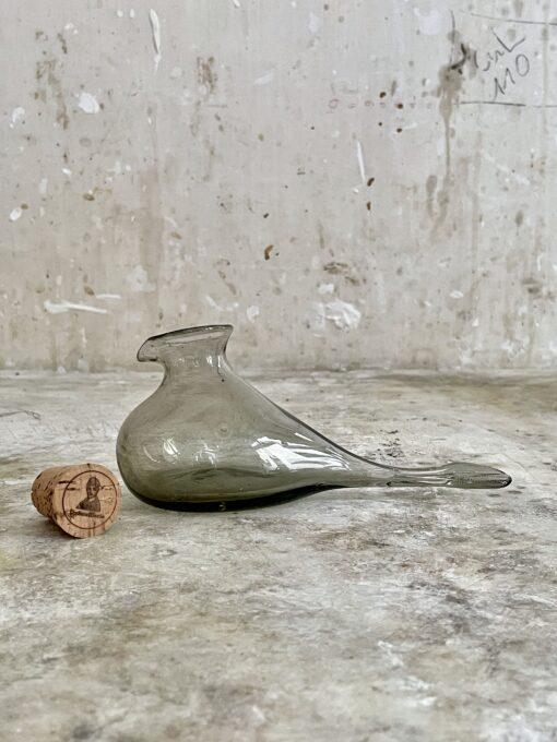 la-soufflerie-oiseau-petit-smoky-bottle-with-cork