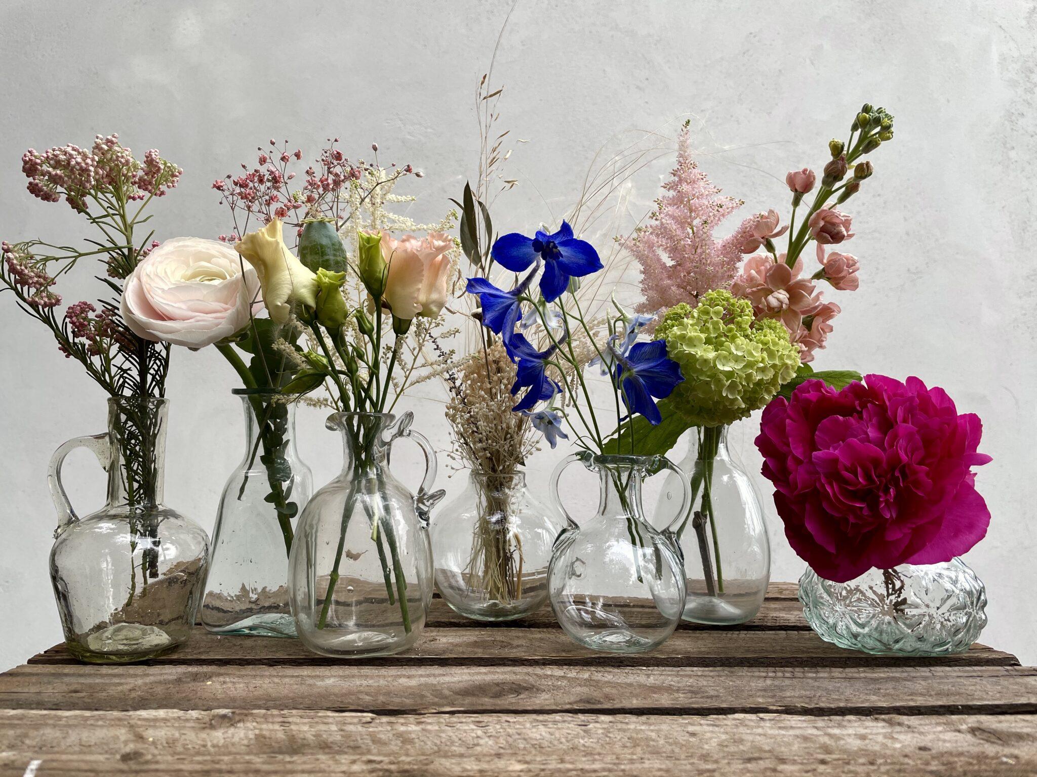 la-soufflerie-wedding-placeholder-bud-vases-with-flowers