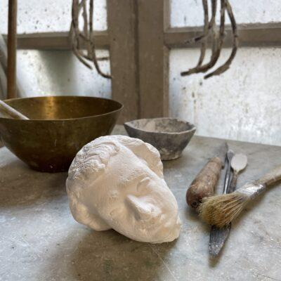 la-soufflerie-angelo-plaster-head-sculpture-decorative-piece